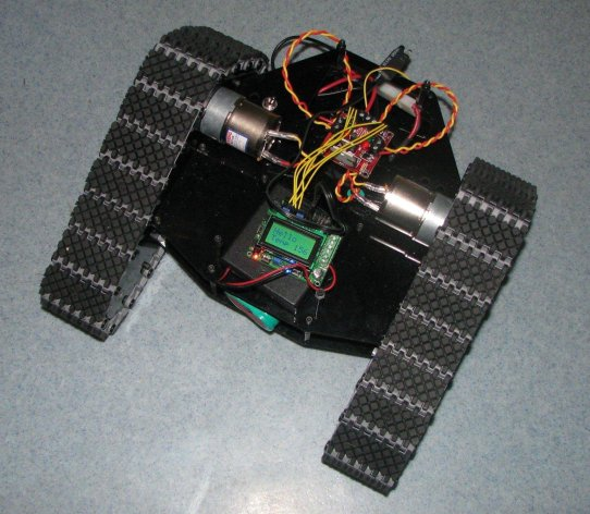 Lynxmotion TriTrack robot
