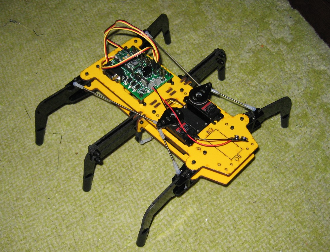 Lynxmotion Hexapod with Basic-24 controller