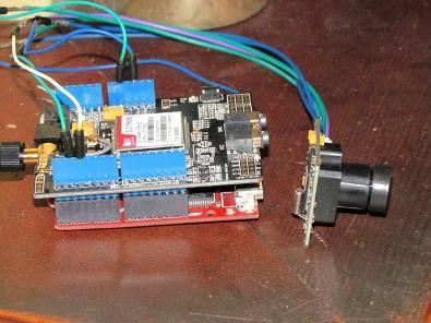 GPRS Remote Webcam